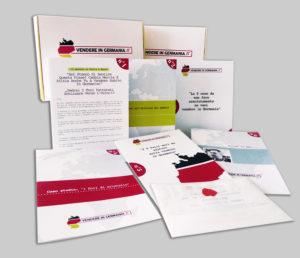 """Richiedi gratuitamente IL KIT – Nel pacco che riceverai per posta nel troverai: • Tutti i documenti in tedesco necessari per vendere in Germania. Ti basterà """"riempire gli spazi vuoti"""" del modello di lettera che trovi nel pacco • La chiavetta USB con i file dei documenti di cui sopra • Il Report """"I 5 errori da non fare se vuoi vendere in Germania"""" • Il caso studio """"I fiori di cristallo"""" • """"I 5 miti da sfatare sulla vendita in Germania"""" • Un report sullo stato del mercato in Italia. • Il Report """"La meccanica in Germania"""" FORM A presto Francesco www.vendereingermania.it"""